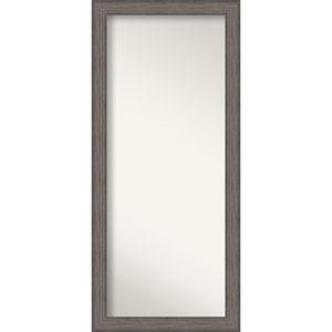 Country Barnwood 29 x 65-Inch Floor Wall Mirror