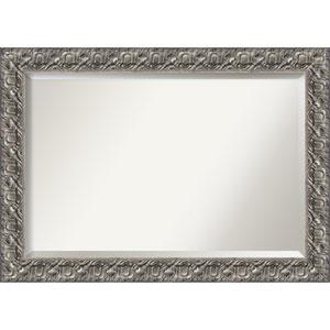 Silver Luxor 42 x 30-Inch Wall Mirror