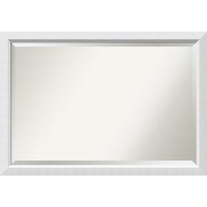 Blanco White, 39 x 27 In. Framed Mirror