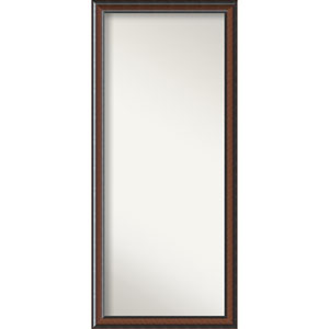 Cyprus Walnut Wood: 29 x 65-Inch Floor Mirror