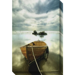 The Old Boat by Carlos Casamayor: 20 x 30-Inch Canvas Art
