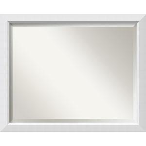 White 31 x 25-Inch Large Vanity Mirror