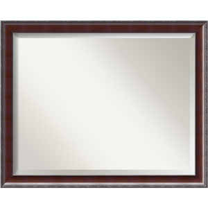 Walnut 31 x 25-Inch Large Vanity Mirror