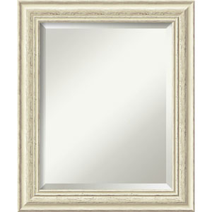 Cream White Was 20 x 24-Inch Medium Vanity Mirror