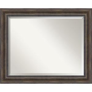 Rustic Pine 33 x 27-Inch Large Vanity Mirror