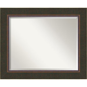 Dark Bronze 34 x 28-Inch Large Vanity Mirror