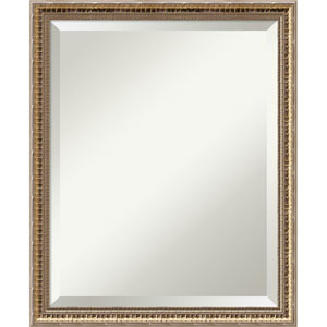 Fluted Champagne, 18 x 22 In. Framed Mirror