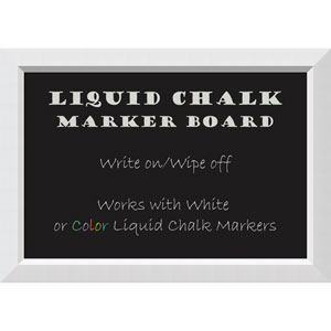 Blanco White, 27 x 19 In. Liquid Chalk Board