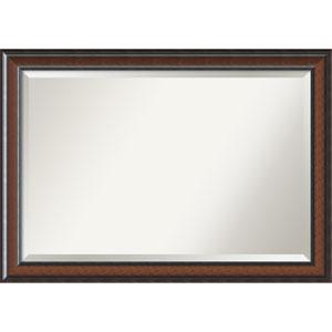 Cyprus Walnut, 41 x 29 In. Framed Mirror
