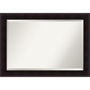 Portico Espresso, 42 x 30 In. Framed Mirror