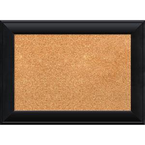 Nero Black, 22 x 16 In. Framed Cork Board