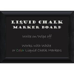 Nero Black, 28 x 20 In. Liquid Chalk Board