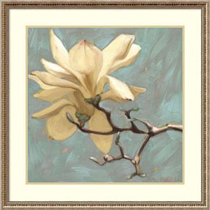 Magnolia 2 by Diane Hoeptner, 32 x 32 In. Framed Art Print
