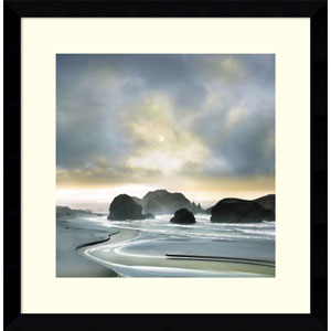 Morning Breaking by William Vanscoy, 17 x 17 In. Framed Art Print