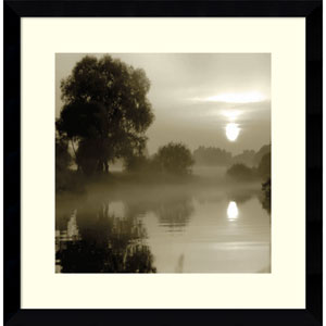Reflections of the Sun by Steven Mitchell, 17 x 17 In. Framed Art Print