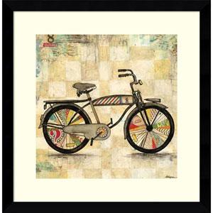 Ride 1 (Bike) by Wagner Jennifer, 17 x 17 In. Framed Art Print