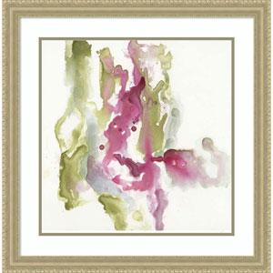 Minimalist Fuchsia I by Jennifer Goldberger, 28 x 28 In. Framed Art Print