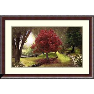 Inner Sanctuary (Tree) by David M (Maclean), 37 x 25 In. Framed Art Print
