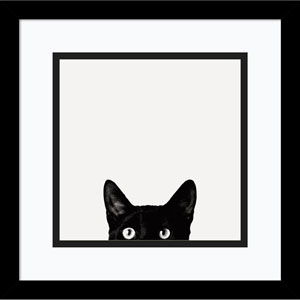 Curiosity by Jon Bertelli, 13 x 13 In. Framed Art Print