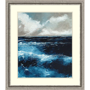 Rolling Sea by Stuart Roy, 29 x 33 In. Framed Art Print