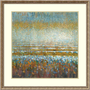Rains over the Lake by Danhui Nai, 32 x 32 In. Framed Art Print