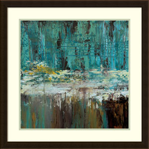 Deep Waters I by Jack Roth, 27 x 27 In. Framed Art Print