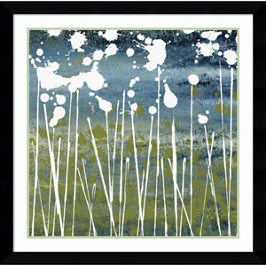 Midnight Blue by Liz Nichtberger, 35 x 35 In. Framed Art Print