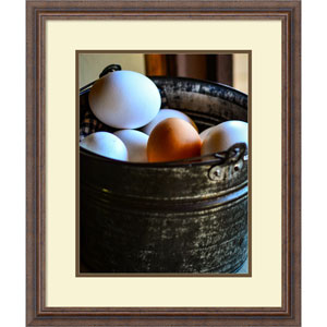 One in the Bunch (Eggs) by Matt Marten, 22 x 26 In. Framed Art Print