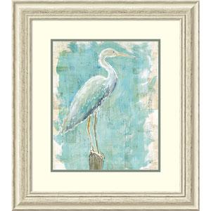 Coastal Egret I v2 by Sue Schlabach, 25 x 28 In. Framed Art Print