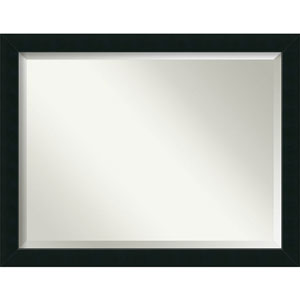 Corvino Black 45 x 35 In. Bathroom Mirror