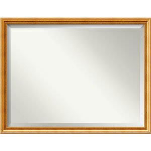 Townhouse Gold 43 x 33 In. Bathroom Mirror