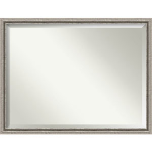 Bel Volto Silver 43 x 33 In. Bathroom Mirror