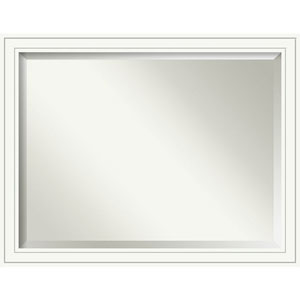 Craftsman White 45 x 35 In. Bathroom Mirror