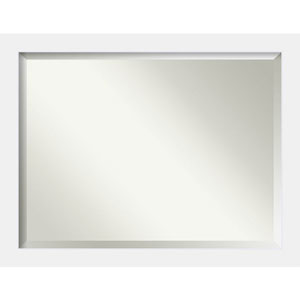 Corvino White 45 x 35 In. Bathroom Mirror
