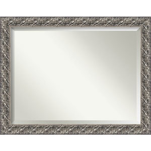 Silver Luxor 48 x 36 In. Bathroom Mirror