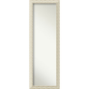 Cape Cod White Wash 17.5 x 51.5 In. Full Length Mirror