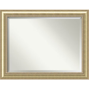 Astoria Champagne 47 x 37 In. Wall Mirror
