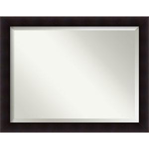 Portico Espresso 46 x 36 In. Wall Mirror