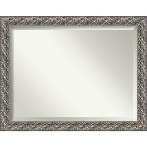 Silver Luxor 48 x 36 In. Wall Mirror