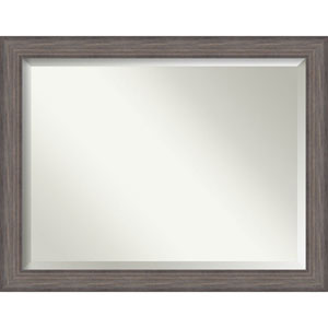 Country Barnwood 45.5 x 35.5 In. Wall Mirror