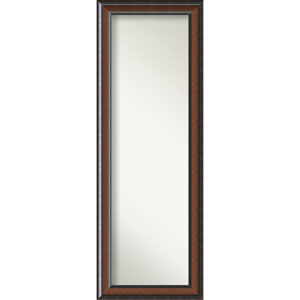 Cyprus Walnut 19 x 53 In. Wall Mirror
