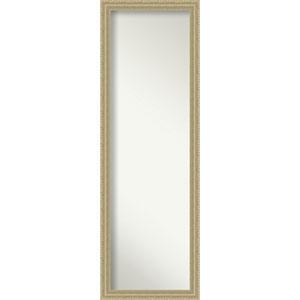 Champagne Teardrop 17 x 51 In. Wall Mirror