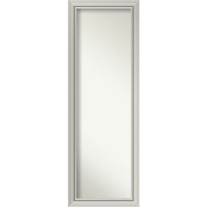 Romano Narrow Silver 18 x 52 In. Wall Mirror