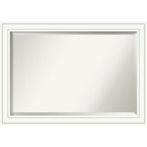 Craftsman White 41 x 29 In. Bathroom Mirror