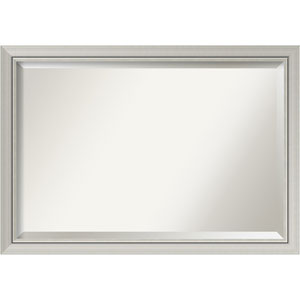 Romano Narrow Silver 40 x 28 In. Bathroom Mirror