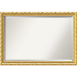 Versailles Gold 40 x 28 In. Bathroom Mirror