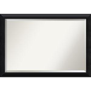 Nero Black 40 x 28 In. Bathroom Mirror