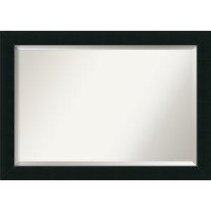 Corvino Black 41 x 29 In. Bathroom Mirror