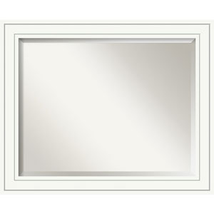 Craftsman White 33 x 27 In. Bathroom Mirror