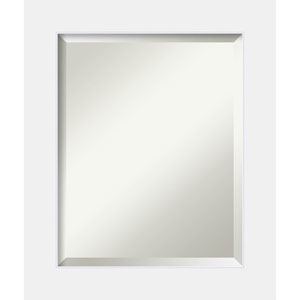 Corvino White 21 x 25 In. Bathroom Mirror